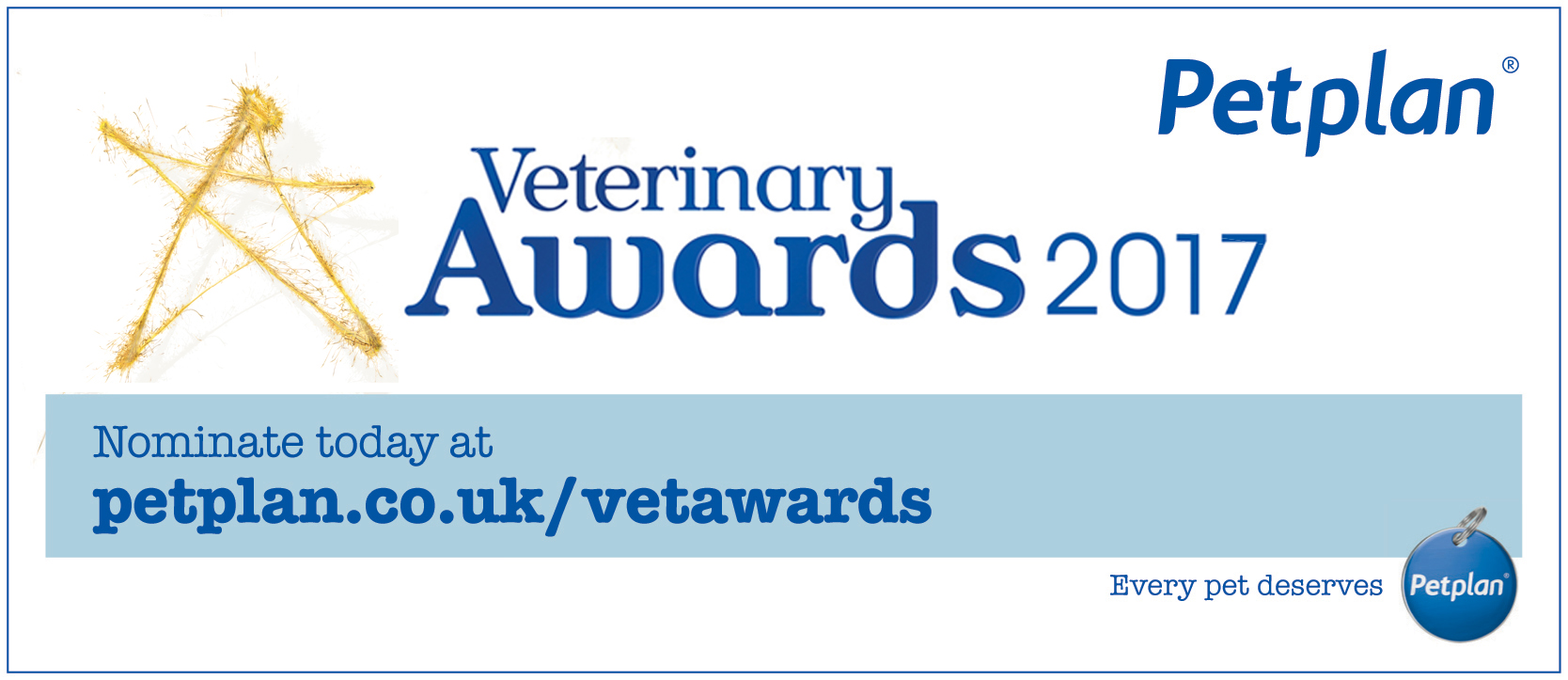 Petplan Veterinary Awards 2017
